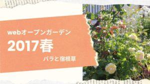 Home and Garden・webオープンガーデン【2017春】